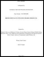 Final Report for RIFA Project March 2013